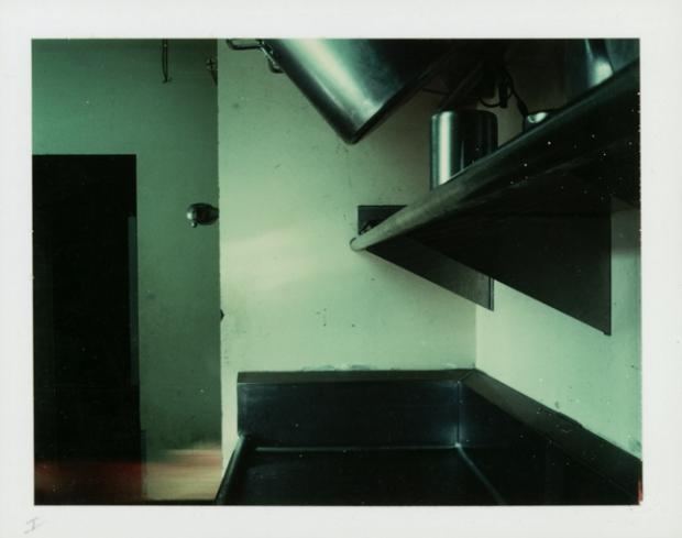 Restaurant Sink, 1976 Polacolor print