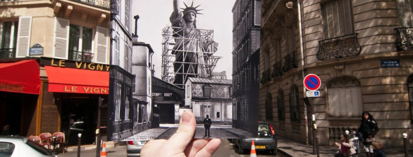 Jason E Powell rephotographs scenes